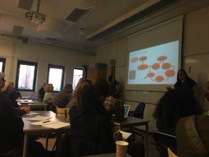 Malin lägger ut texten om Learning Study - processen